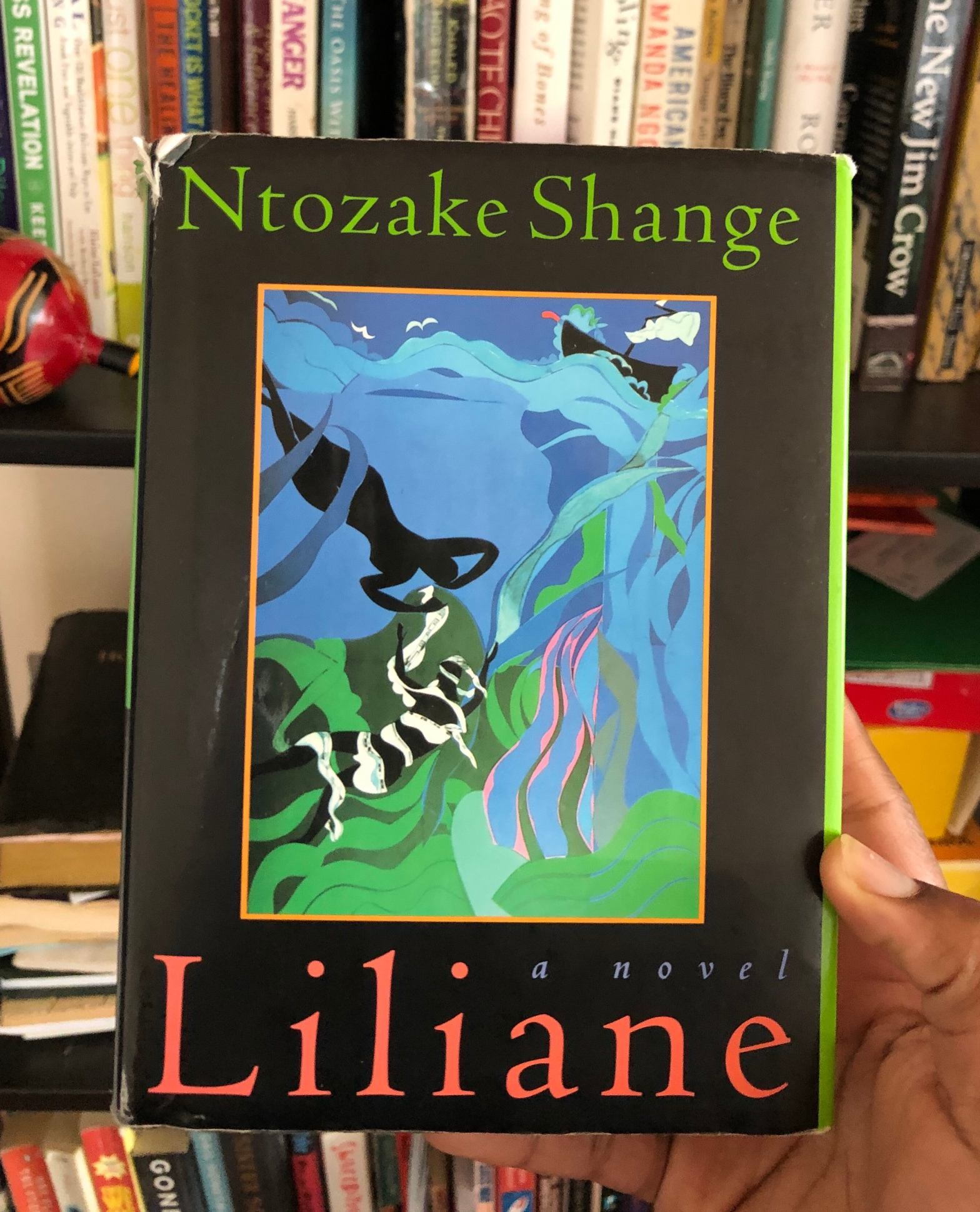 Liliane  Resurrection Of The Daughter By Ntozake Shange